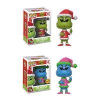 Funko Pop! - Dr. Suess- The Grinch #12- CHASE COMBO!