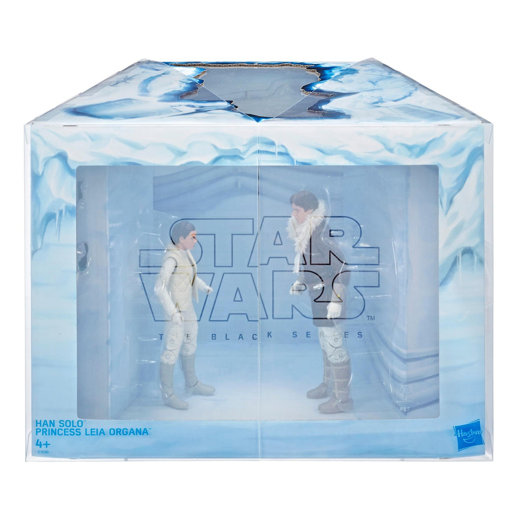 Star Wars - Black Series - Han Solo and Princess Leia Organa Exclusive Pack