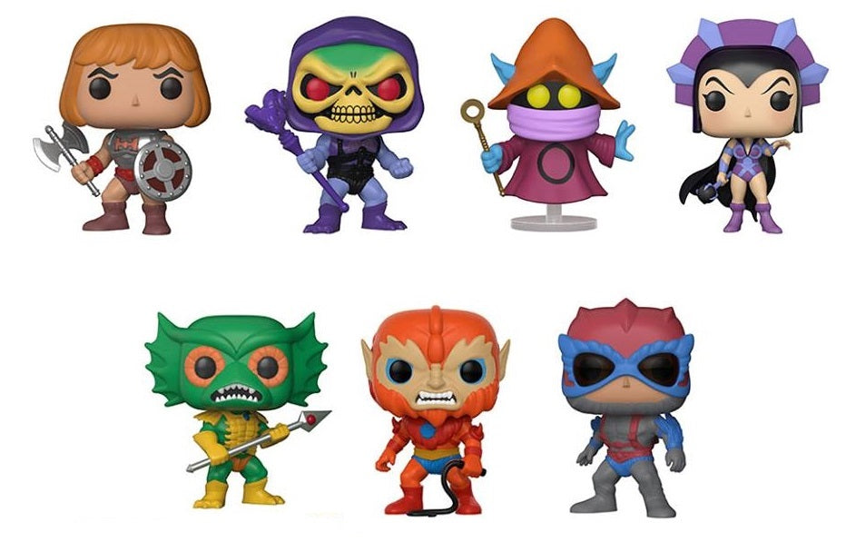 Funko Pop! - Masters of the Universe - He-Man Set (7 Pops!)
