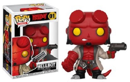 Funko Pop! - Comic Series - Hellboy With Jacket #01