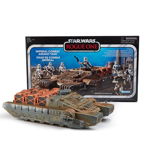 Star Wars - The Vintage Collection - Rogue One Imperial Combat Assault Hovertank Vehicle