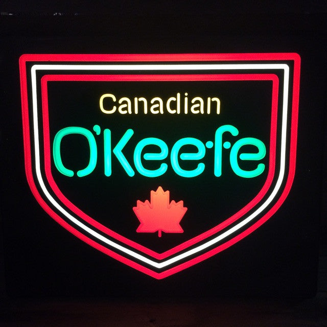 Canadian O'Keefe Lighted Beer Sign