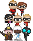 Funko Pop! - Incredibles 2 Set (8 Pops)