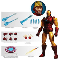 PREORDER - Mezco - One:12 Collective Action Figures - Iron Man