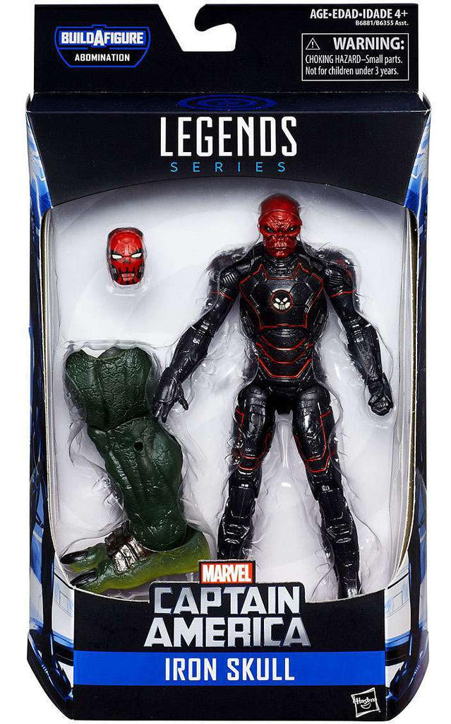 Marvel Legends - Captain America Civil War - Iron Skull BAF Abomination