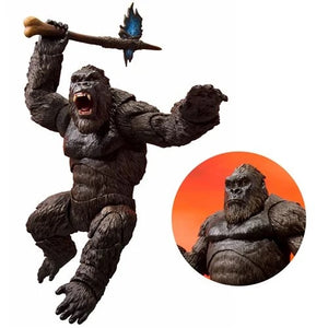 PREORDER - Godzilla Vs. Kong 2021 King Kong S.H.Monsterarts Action Figure