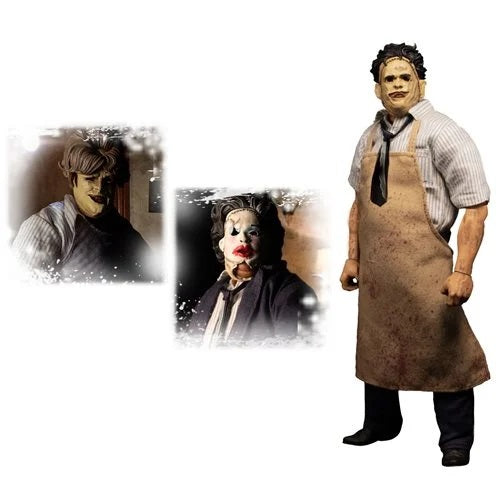 PREORDER - Mezco - One:12 Collective Action Figures - The Texas Chainsaw Massacre (1974): Leatherface - Deluxe Edition