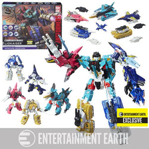 Transformers - Combiner Wars - Liokaiser Platinum Edition Boxed Set EE Exclusive