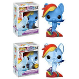 Funko Pop - My Little Pony - Rainbow Dash Sea Pony #12 CHASE COMBO