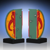 Gentle Giant - Star Wars - Mandalorian Symbol Boba Fett Bookends
