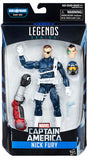 Marvel Legends - Captain America - Nick Fury BAF Giant Man