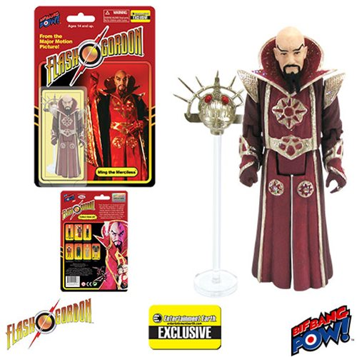 Bif Bang Pow - Flash Gordon Movie Series - Ming The Merciless Limited Edition - EE Exclusive