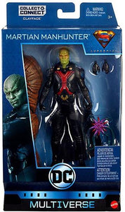 DC - DC Comics Multiverse - Martian Manhunter Figure - Clayface Wave
