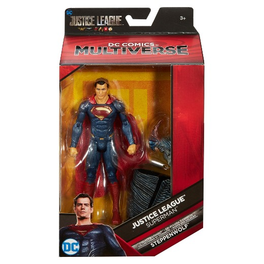 DC - Justice League Movie Multiverse - Superman Action Figure (Red/Blue)