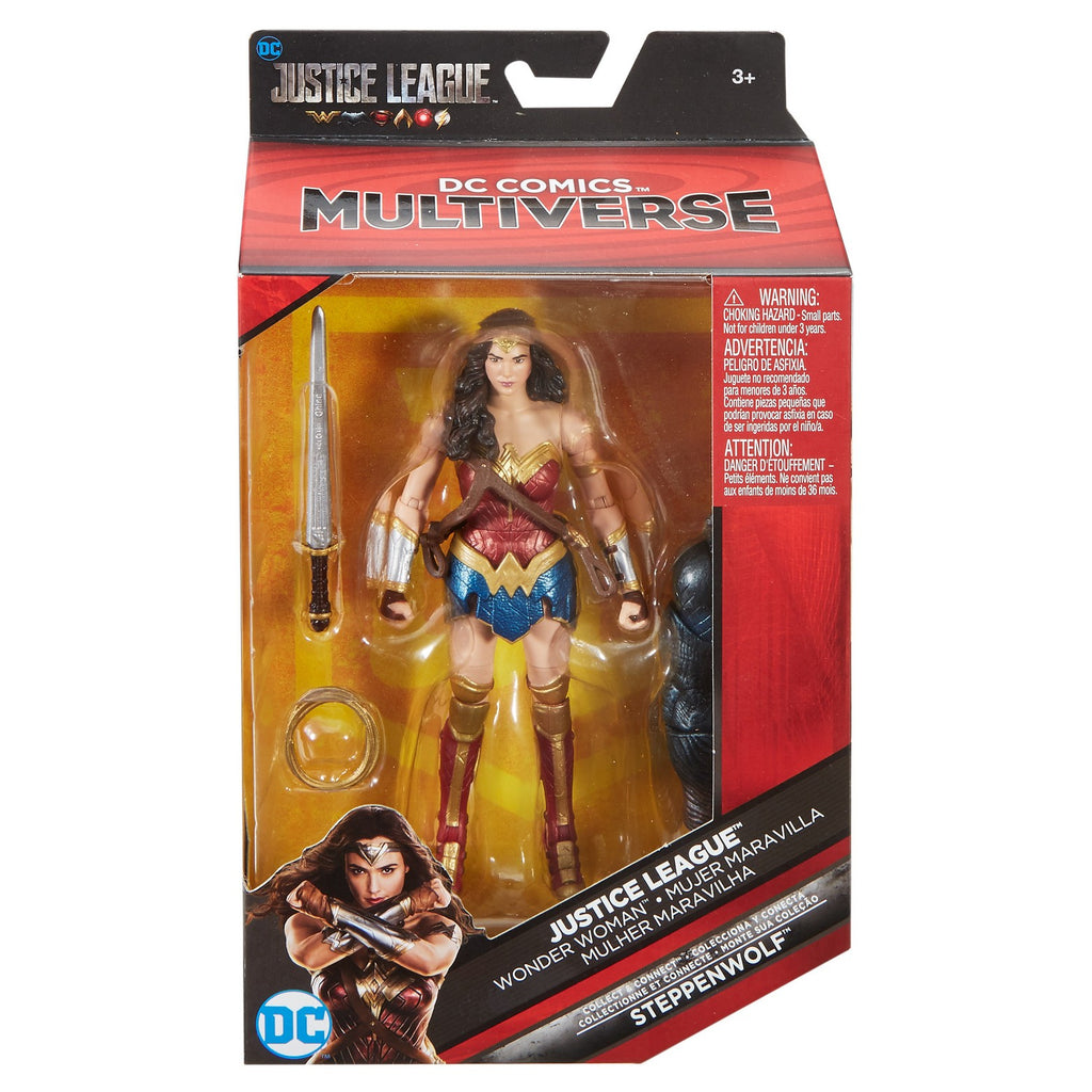 DC - Justice League Movie Multiverse - Wonder Woman Action Figure