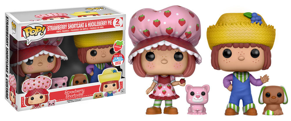 Funko Pop! - NYCC 2016 Exclusive - Strawberry Shortcake & Huckleberry Pie 2 Pack