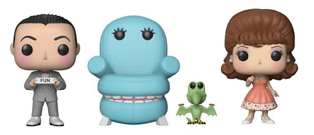Funko Pop! - Pee Wee's Playhouse Pop Set (3 Pops)