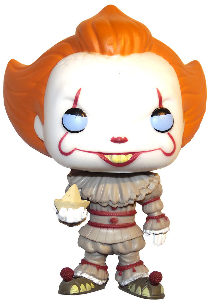 Funko Pop Movie Series It Pennywise With Boat Amp Blue