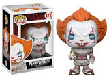 Funko Pop! - Movie Series - It Pennywise (with boat & blue eyes) #472