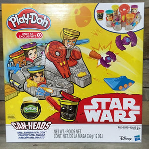 Play Doh Star Wars Can Head Millennium Falcom Playset TARGET Exclusive