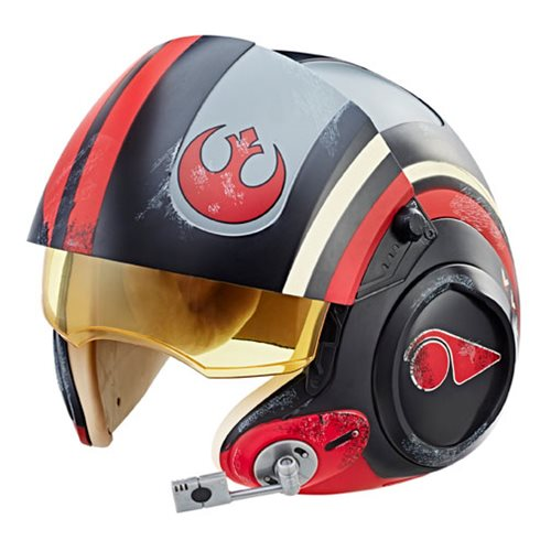 Star Wars - Black Series - Poe Dameron Electronic X-Wing Pilot Helmet