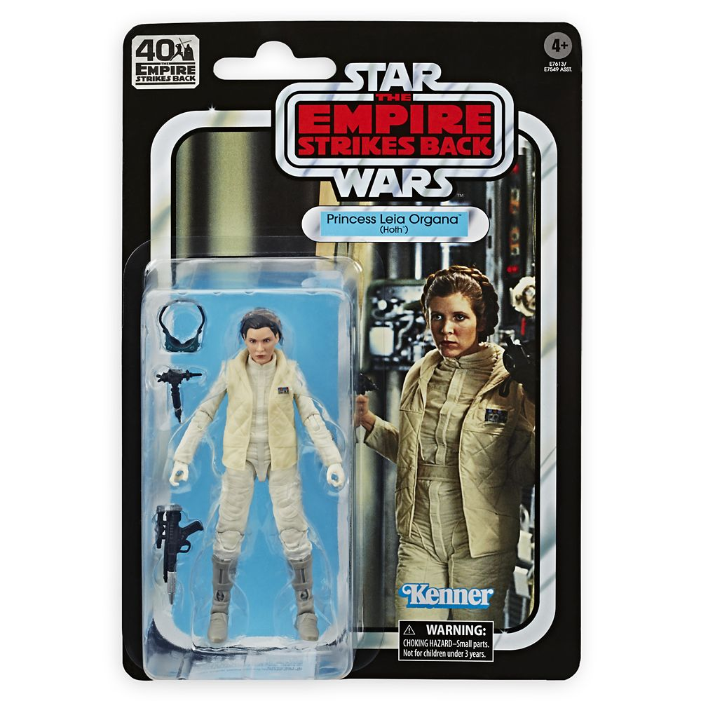 Star Wars - Empire Strikes Back 40th Anniversary Black Series Figure - Princess Leia Organa (Hoth)