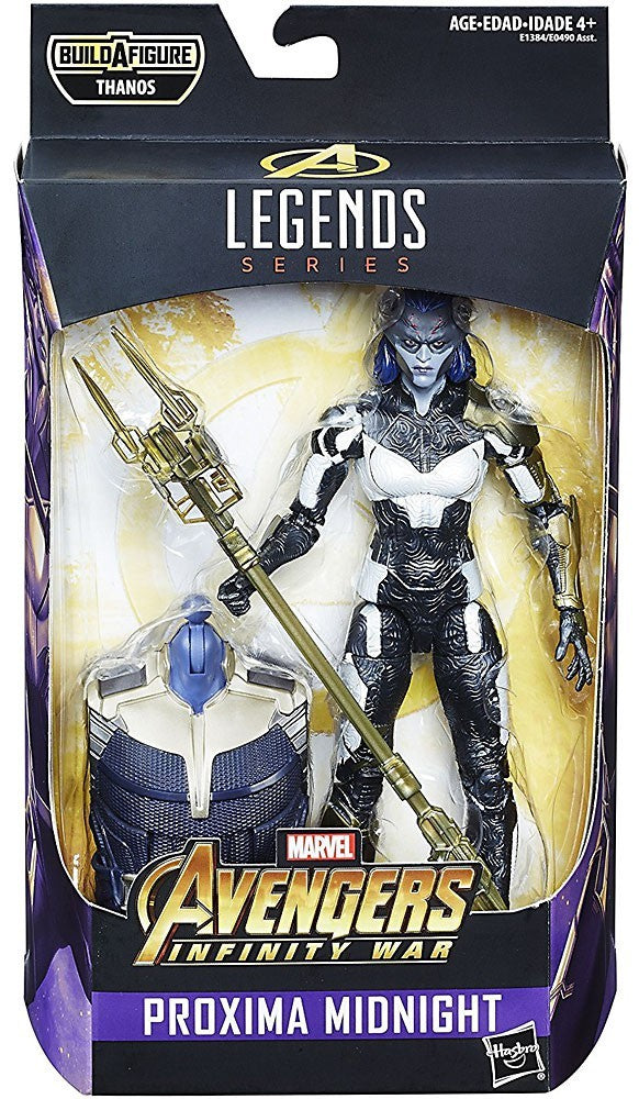 Marvel Legends - Avengers Infinity War - Proxima Midnight BAF Thanos