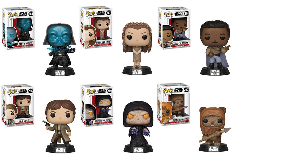 Funko Pop! - Star Wars - Return of the Jedi Set (6 Pops)