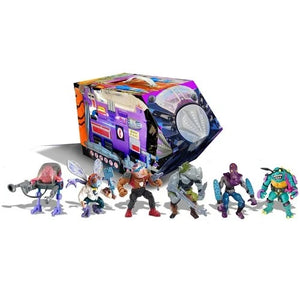 PREORDER - Teenage Mutant Ninja Turtles - Retro Villains Mutant Module Rotocast Action Figure 6 Pack - Previews Exclusive