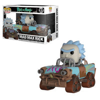 Funko Pop - Rick & Morty - Mad Max Rick Vehicle #37