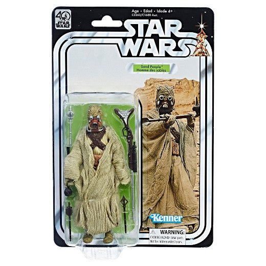 Star Wars - 40th Anniversary Black Series Figure - Sand People