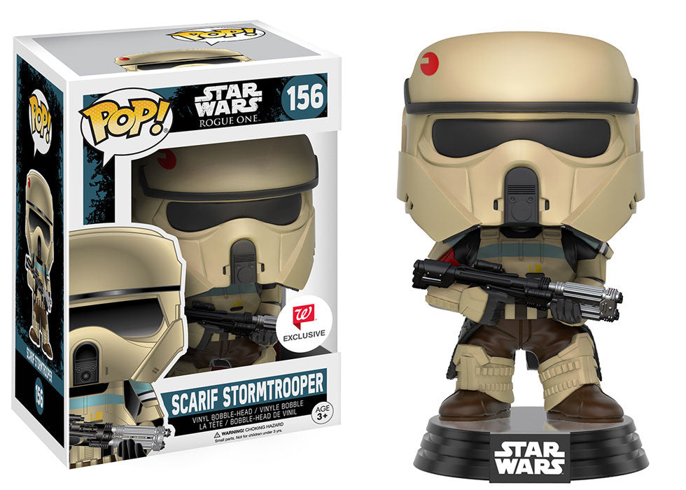 Funko Pop! - Star Wars - Scarif Stormtrooper #156 Walgreen's Exclusive