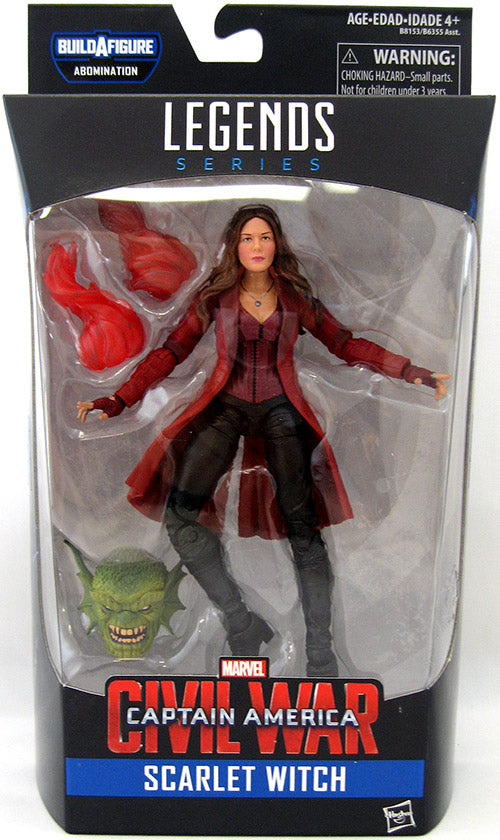 Marvel Legends - Captain America Civil War - Scarlet Witch BAF Abomination