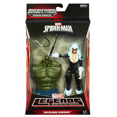 Marvel Legends Infinite Series Skyline Sirens