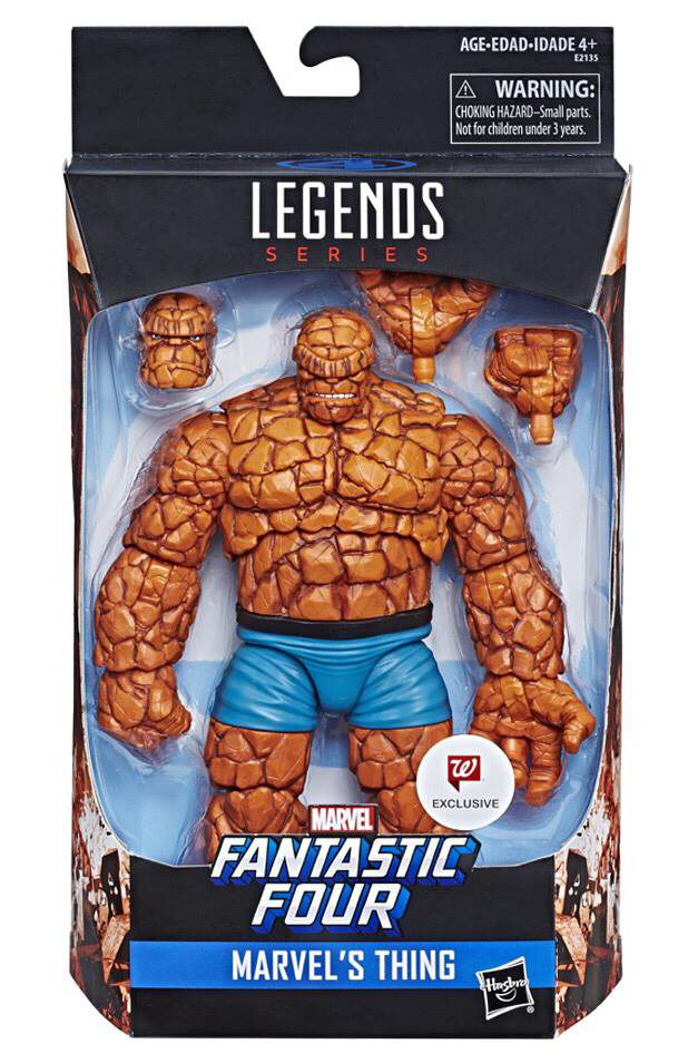 Marvel Legends - Fantastic Four - Marvel's Thing Walgreen's Exclusive