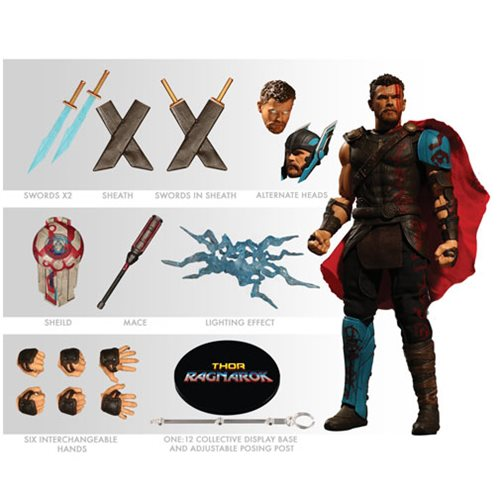 Mezco - One:12 Collective Action Figures - Thor Ragnarok