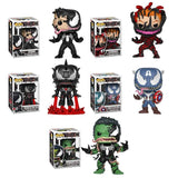Funko Pop! - Marvel Venom - Set (5 Pops)