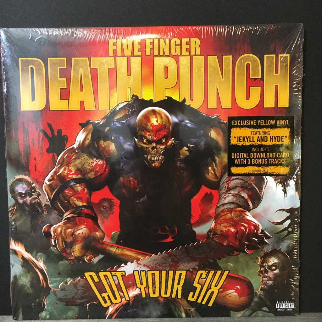 Five Finger Death Punch - Got Your Six Exclusive Yellow Vinyl Album