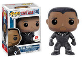 Funko Pop! - Captain America Civil War - Black Panther Unmasked #138 Walgreen Exclusive