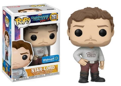 Funko Pop! - Guardians of the Galaxy Vol.2 - Star-Lord #261 Walmart Exclusive