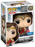 Funko Pop! - Justice League - Wonder Woman (w/Motherbox) #211 Walmart Exclusive