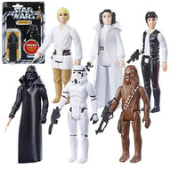 PREORDER - Star Wars - The Retro Collection - Wave 1 Case (Set of 6)