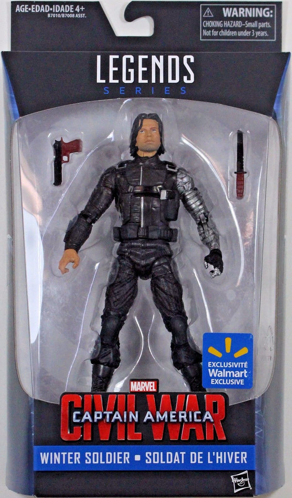 Marvel Legends - Captain America Civil War - Walmart's Winter Soldier