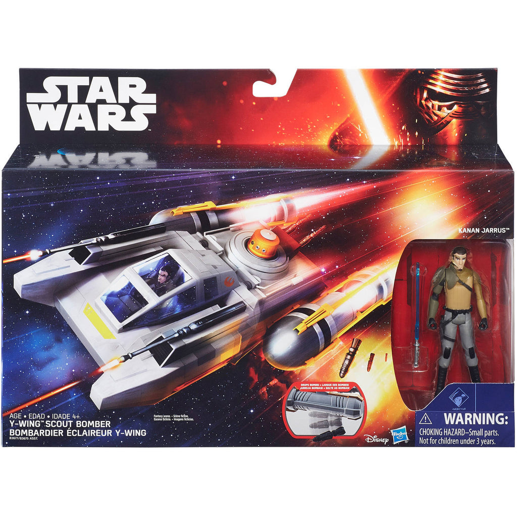 Star Wars - Rebels- Y-Wing Scout Bomber 3.75""