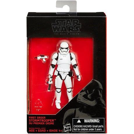 "Star Wars - Black Series - First Order Stormtrooper 3.75"" - Walmart Exclusive"