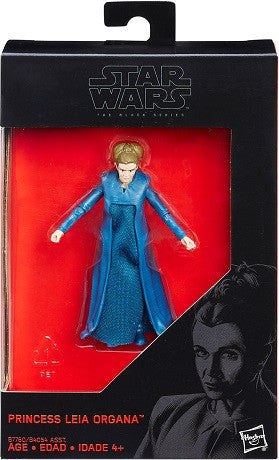 "Star Wars - Black Series - Princess Leia Organa 3.75"" - Walmart Exclusive"