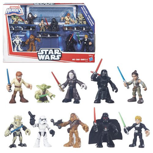 Star Wars - Galactic Heroes Rivals Jedi vs. Sith Set