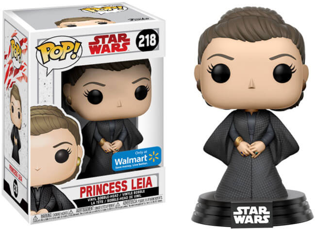 Funko Pop! - Star Wars - Princess Leia #218 Walmart Exclusive