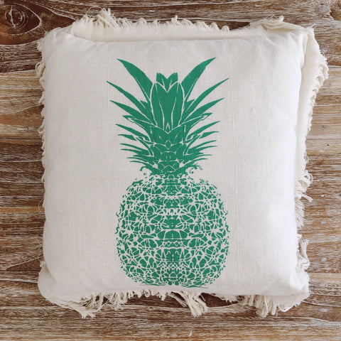 Pineapple Cushion ~ Mint