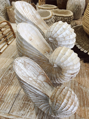 Wooden Shells ~ Set 3